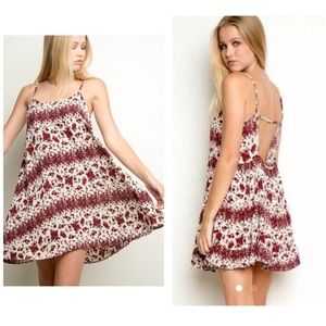 Brandy Melville Rose Dress - Discontinued Style